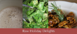 raw holiday delights