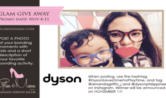 Dyson Saves Time for Playtime: Contest!